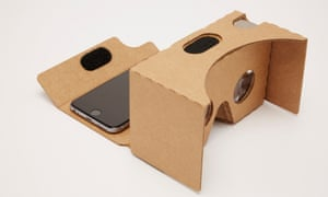 Google Cardboard virtual reality viewer