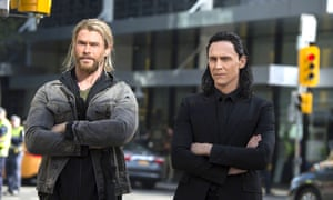 Double act: Chris Hemsworth and Tom Hiddleston in Thor: Ragnarok.
