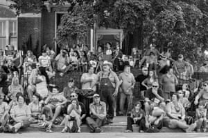 Pigasus ParadeSpectators gather to celebrate ham at a parade in Lebanon, Kentucky