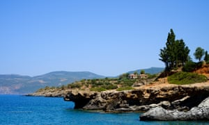 The Mani Peninsula, Peloponnese, where Patrick Leigh Fermor hosted his artistic friends.