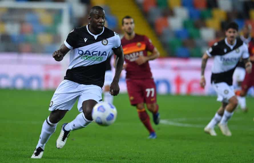 Stefano Okaka has been one of Serie A's most effective strikers since he signed for Udinese.
