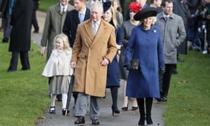 ( Queen may miss New Year's Day church service )