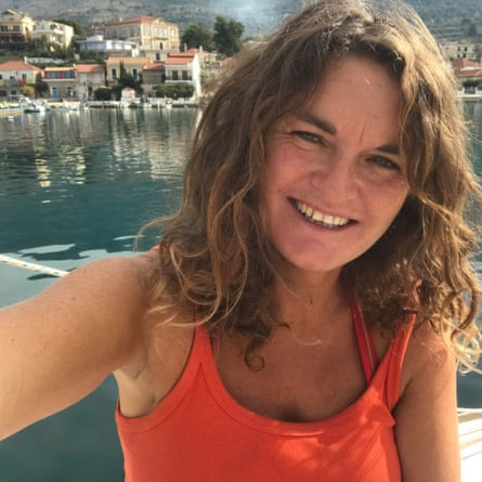 Susan Smillie in Greece.