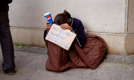 Homeless people aren't subhuman. One day that might be you sleeping rough