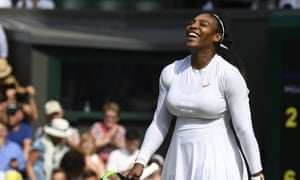 Serena Williams reached her first final since giving birth to her daughter.