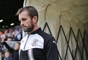 Luton Town manager Nathan Jones.