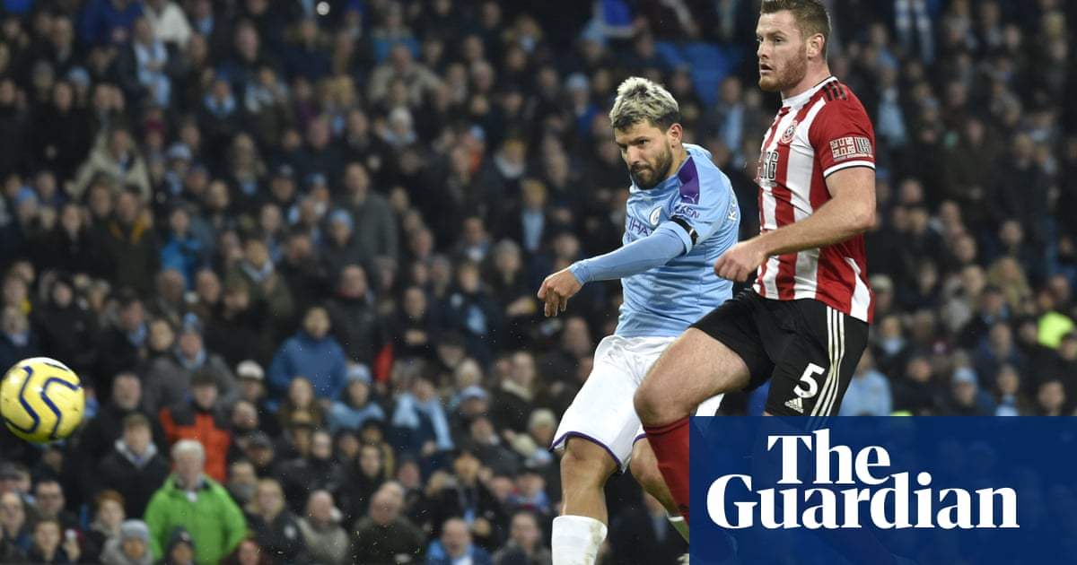 Manchester City and Aguëro profit from moment of farce to sink Sheffield United