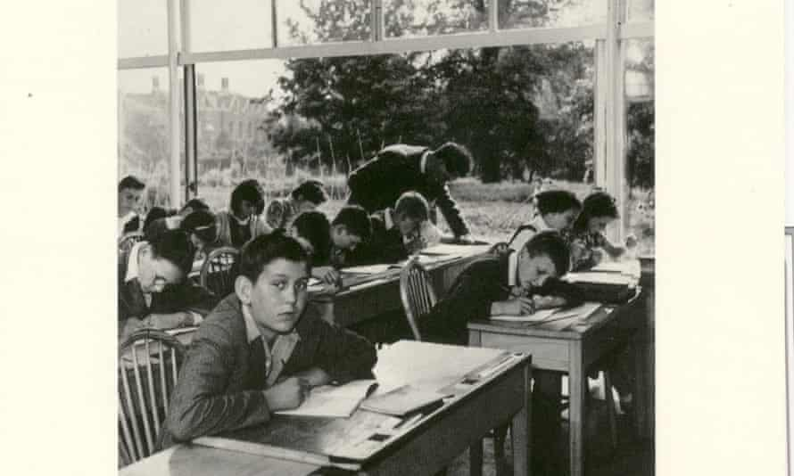 School lessons at Impington in 1943