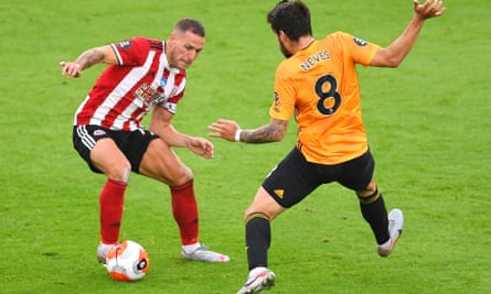 Billy Sharp, in action against Wolves