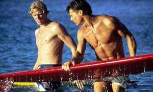 William Katt, left, and Jan-Michael Vincent in Big Wednesday, 1978.
