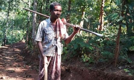 Jalandhar Nayak, 45, who lives in a remote village in eastern India