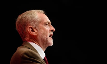 Jeremy Corbyn makes his keynote address on the third day of the annual Labour Party Conference in Brighton