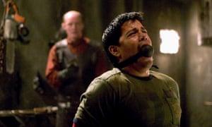 Petr Janis and Jay Hernandez in Hostel.
