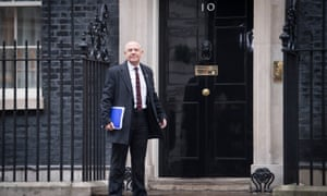Tim Roache of the GMB arriving at Number 10