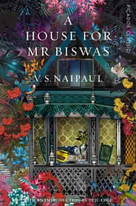 The cover of VS Naipaul's A House for Mr Biswas