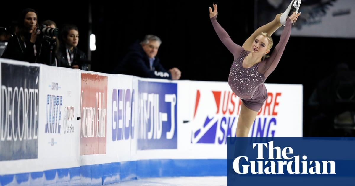 Amber Glenn: America's bi/pan skating star on coming out and breaking through
