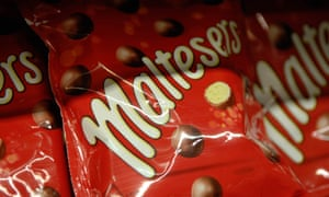 Sharing bags of Maltesers are now 15% smaller.