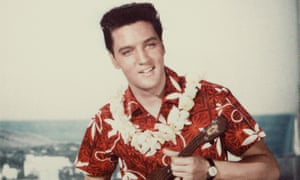 Hawaii style-o: Elvis Presley in Blue Hawaii from 1961.