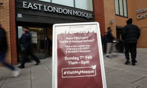 An open day at East London mosque in Whitechapel