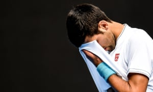 Novak Djokovic after his defeat to Denis Istomin on Thursday