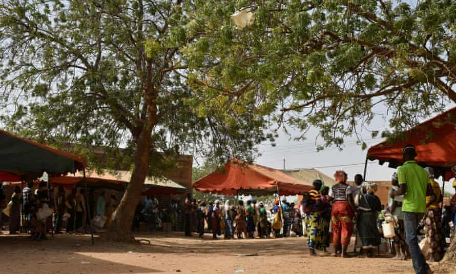 People have been displaced by Islamist-linked attacks in the west African county