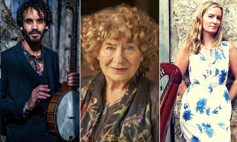 Jake Blount, Shirley Collins and Bróna McVittie.