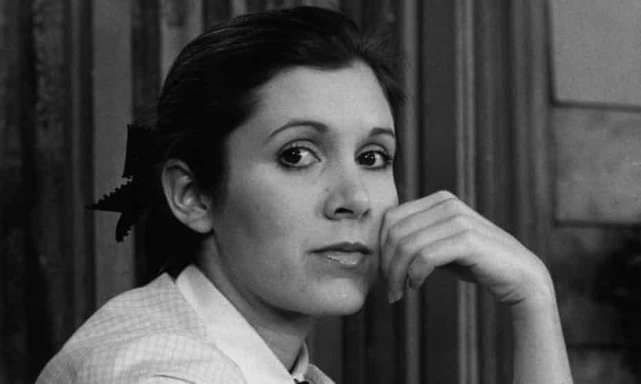 'That American girl' … Carrie Fisher in the 1970s.