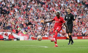 Naby Keita adds a third for the Reds.