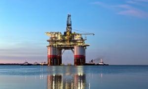'Big Foot',  Chevron's deep ocean platform