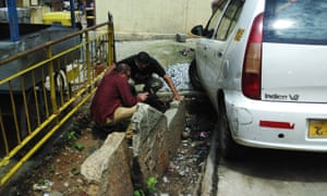 Engineers Udaya Kumar and Vinay Kumar have started a community movement to save the stones from being lost to development.