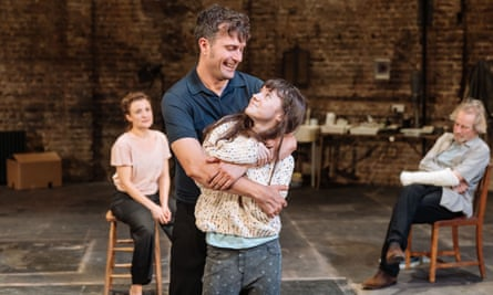 From latent to blatant … Edward Hogg and Clara Read as James and Hedwig Ekdal in The Wild Duck at the Almeida.