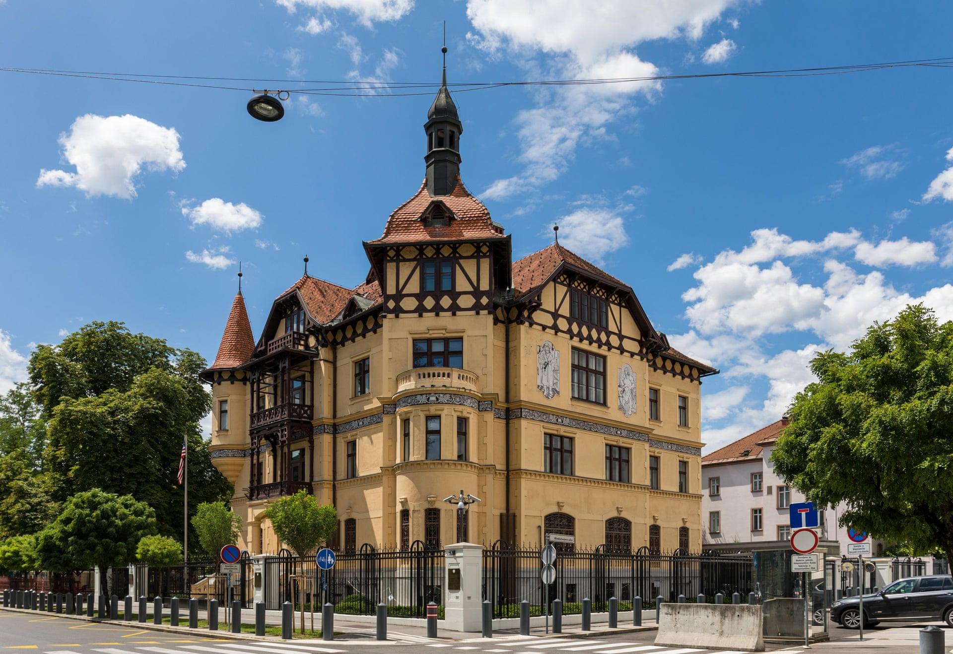 US embassy in Ljubljana, Slovenia