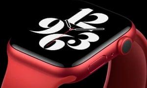 The Apple Watch Series 6.