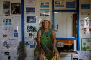 Conservation worker June Haimoff