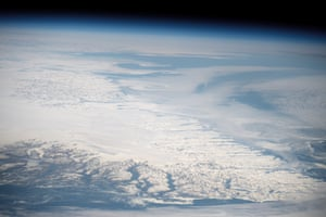 The southern tip of Greenland seen from space.
