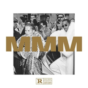 The 1999 shot of Puff Daddy and Kate Moss reused on the cover of MMM