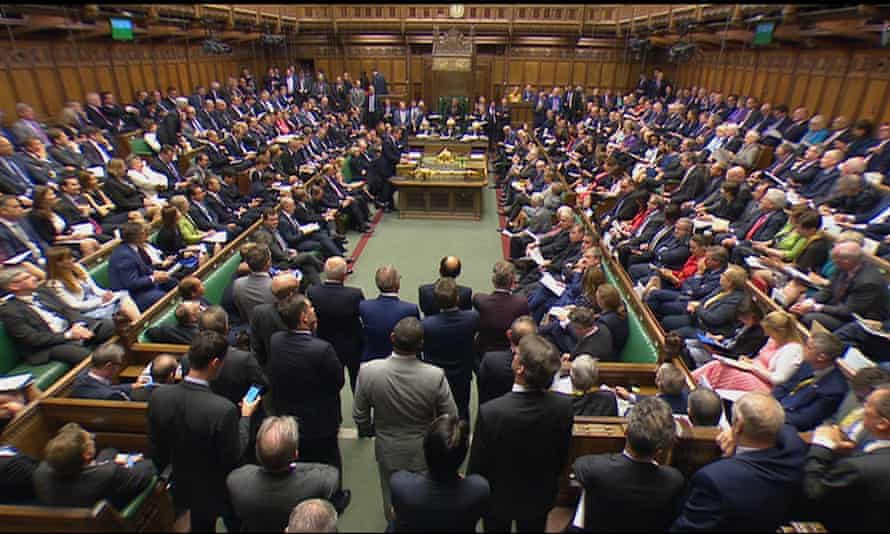 MPs in the House of Commons on Wednesday