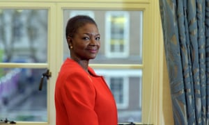 Baroness Amos, photographed in her office at Soas University of London.