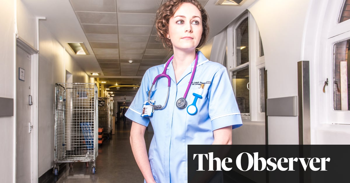 cacbc7790ef A nurse's work: 'I took a pair of gloves and tried to remove the piercing.  It held' | Society | The Guardian