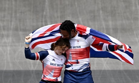 Team GB claim Olympic double in BMX racing as Shriever gets gold and Whyte silver