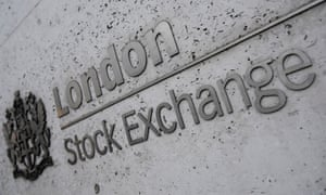 The London Stock Exchange offices in the City of London.