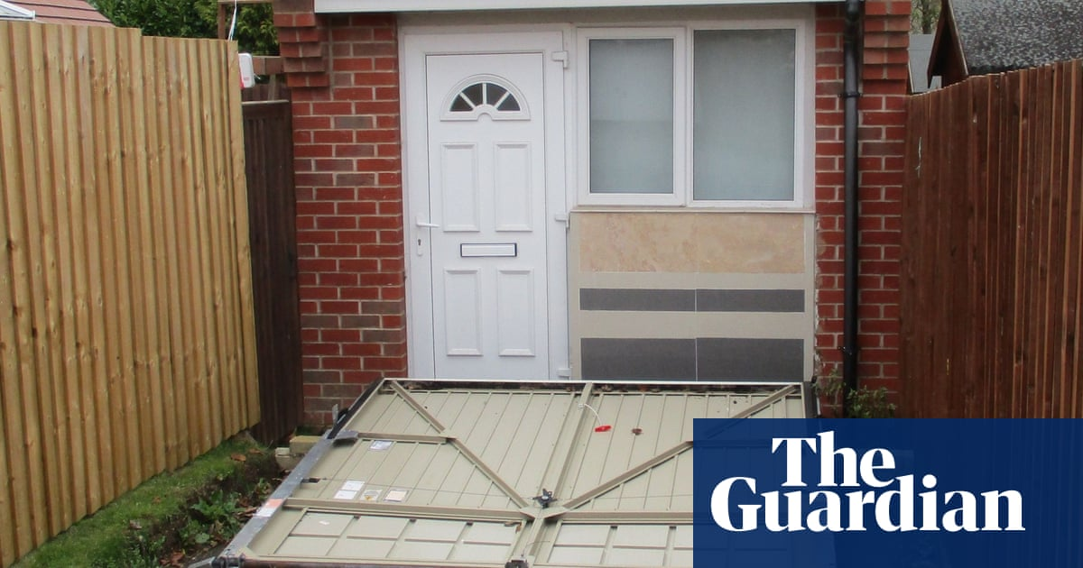 Couple Fined For Using Fake Garage Door To Hide House In Leicester