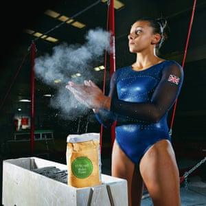 Gymnast Becky Downie