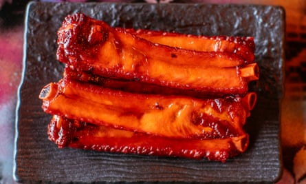 'Madeleine moment': barbecue ribs.