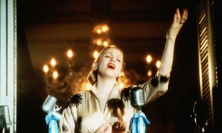 Madonna como Eva Perón en Evita.