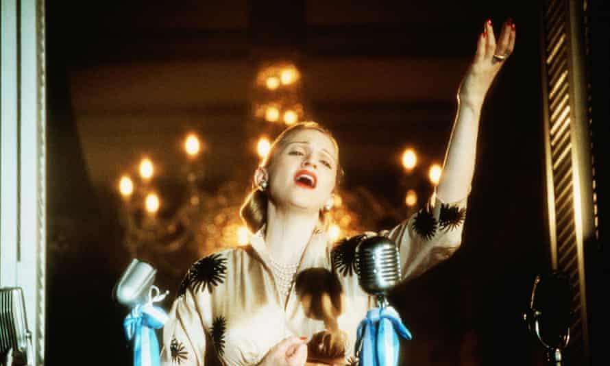 Madonna, Evita, 1996.