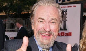 Rip Torn at the Dodgeball premiere.