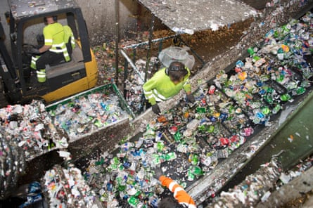 The Infinitum recycling plant in Fetsund, Norway.