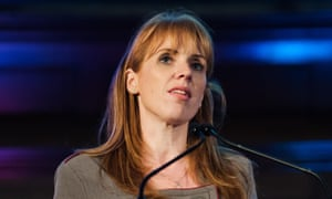 Angela Rayner speaks at a rally against school cuts in central London on 20 November 2018