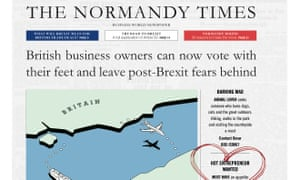Normandy Times advert